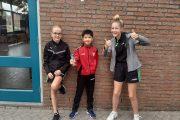 Milan Roelofs 2e bij de jongens pupillen op jeugdranglijsttoernooi Maasbracht!